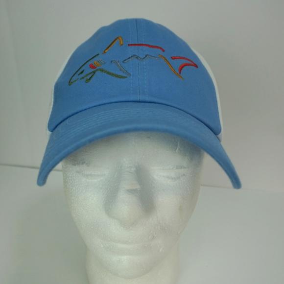 531abea6e58 GREG NORMAN Embroidered Shark Golf Hat OSFA
